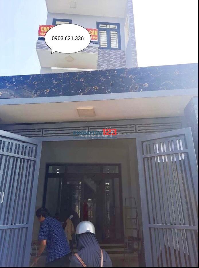 Cho thuê nhà mặt tiền quá rẻ 34/4B Xóm Bắp Xã Thới Tam Thôn Hóc Môn chỉ 9tr/th