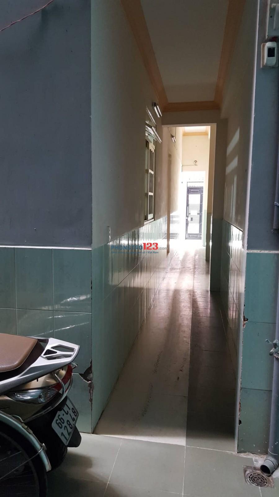 Phòng trọ 23m2 giá rẻ gần sân bay, công viên Gia Định