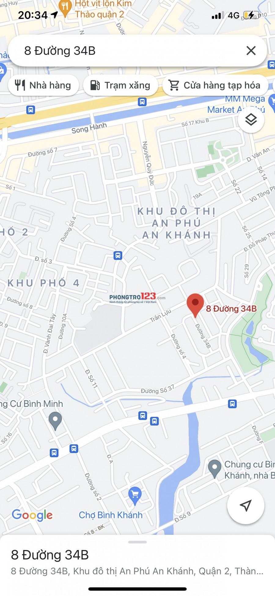Phòng Ghép Rộng và đẹp - Có Cửa sổ - Khu ĐÔ Thị AN Phú 1,6 triệu b