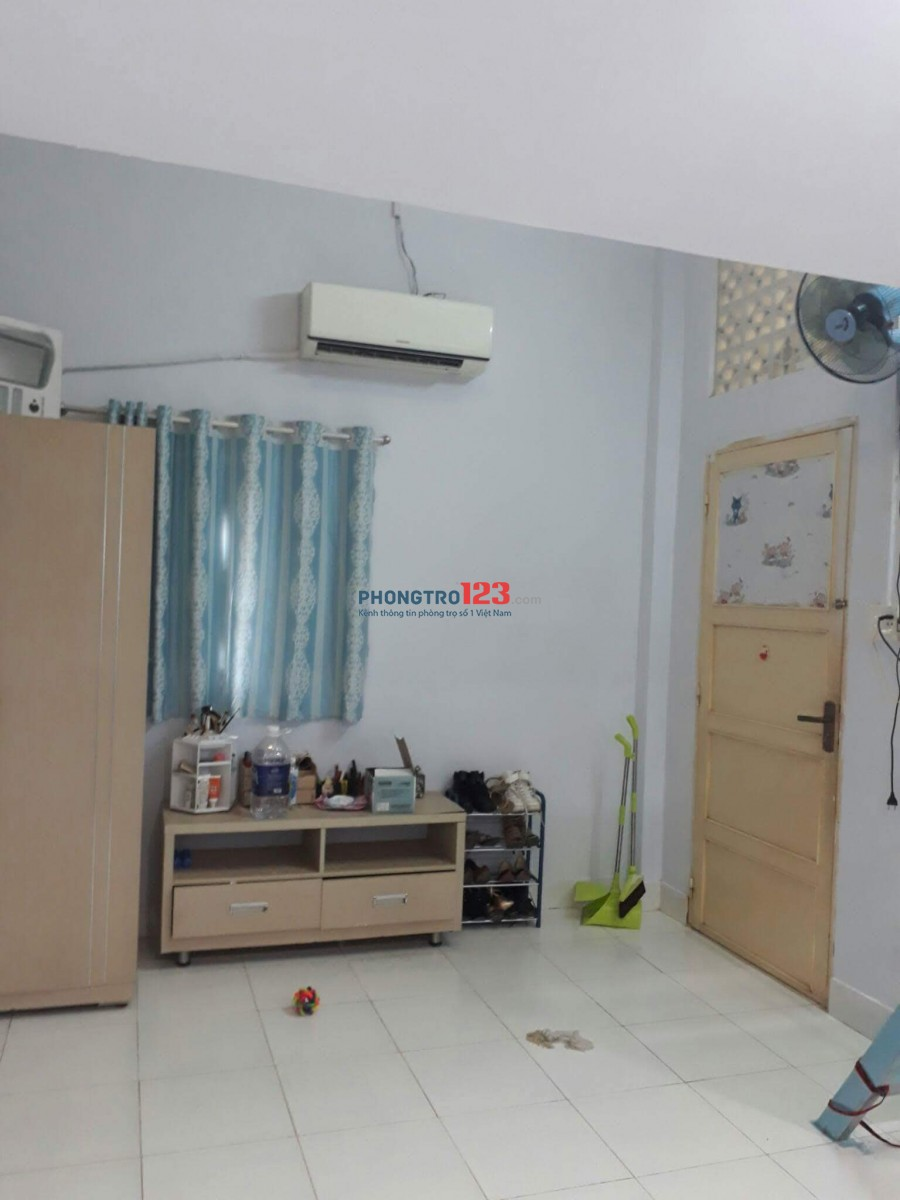 Phòng trọ đường Triệu Quang Phục, Quận 5