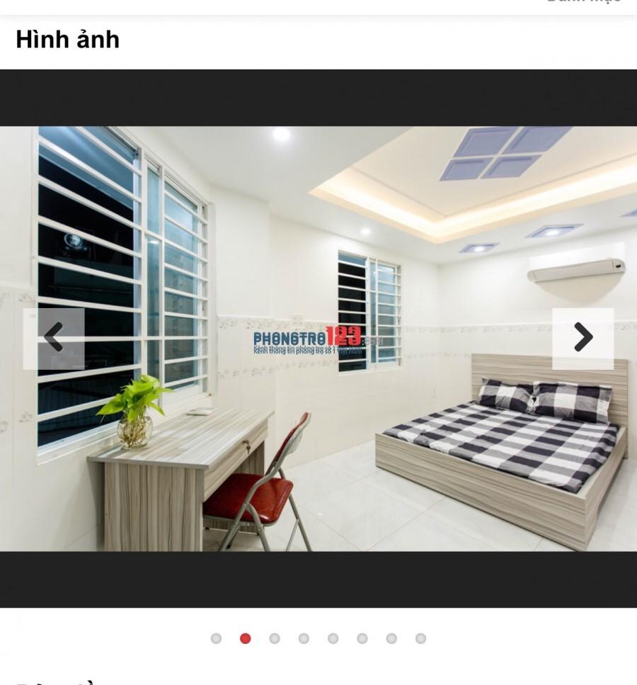 Phòng trọ cao cấp giá cả hợp lý, Full tiện nghi nội thất tại Hương Lộ 3 Bình Tân