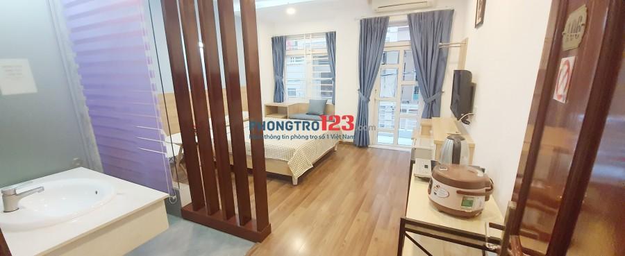 Cho thuê phòng mới 100% full nội thất đường Nguyễn Trãi ngay Zen Plaza Q1