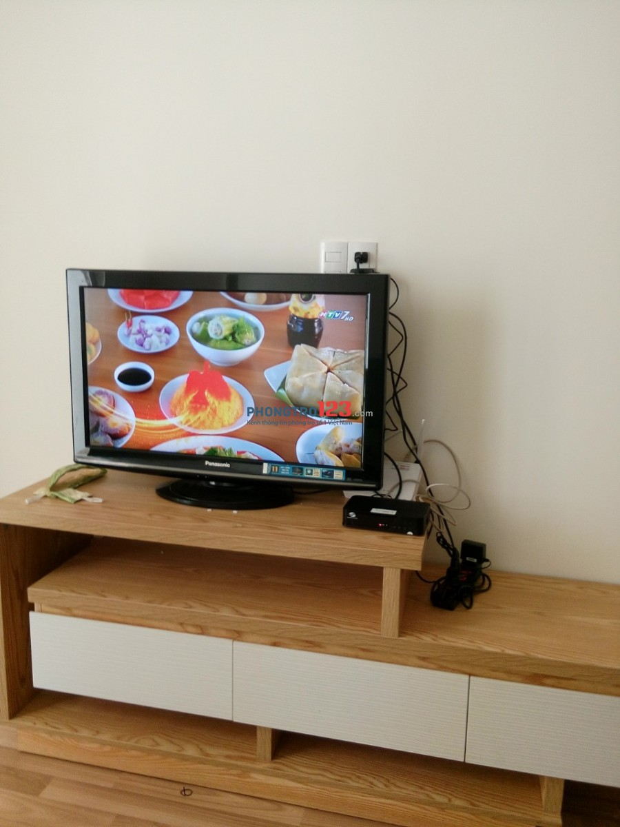 Cho thuê căn hộ chung cư Conic Đông Nam Á H. Bình Chánh, diện tích 74m2, nhà 2 phòng ngủ, giá 5.5tr/tháng nội thất