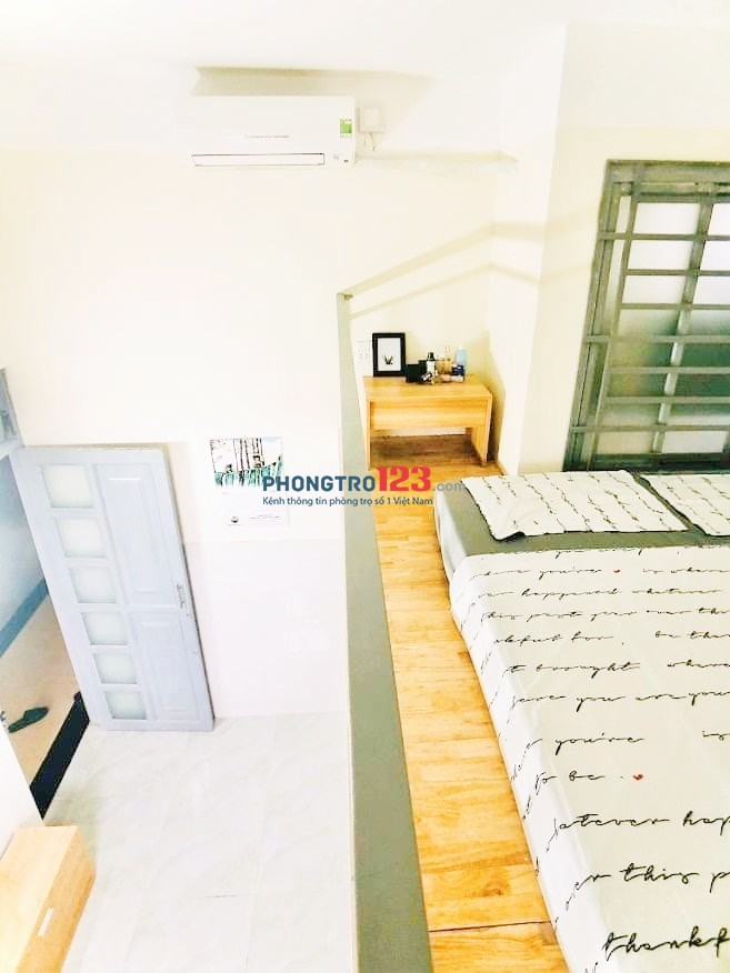 chung cư mini Chợ Tân Trụ giá hạt dẻ đầy đủ nội thất