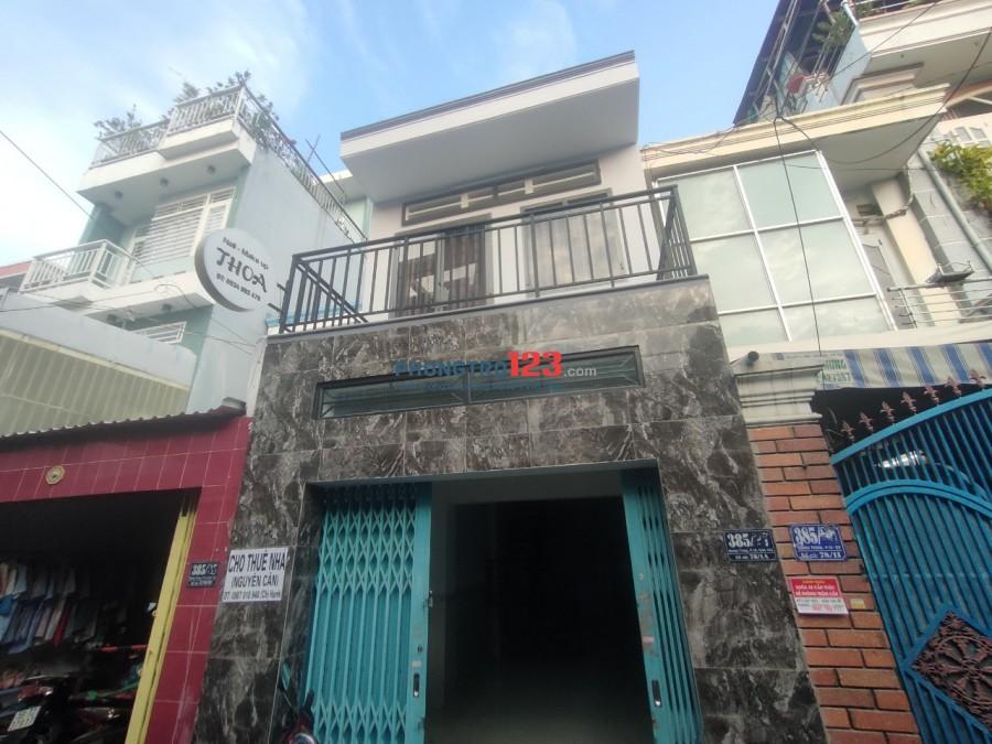 Cho thuê nhà nguyên căn mặt tiền hẻm 385 Quang Trung