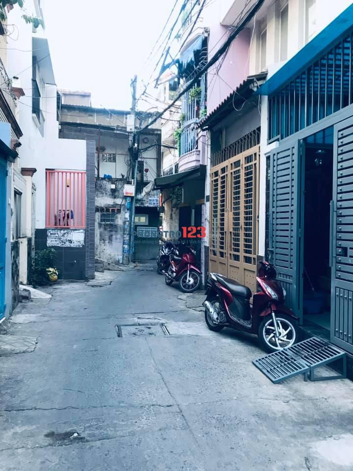 Cho thuê nhà tại 293/13 Bạch Đằng, P15, Q. Bình Thạnh.