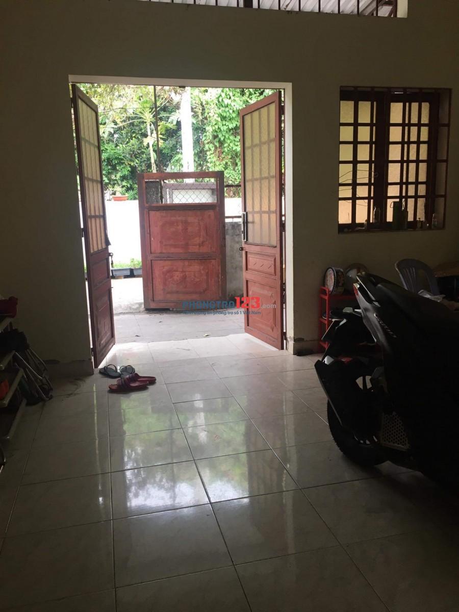 Tìm người share house 17/6 đường số 15, P. Linh Chiểu, Q. Thủ Đức