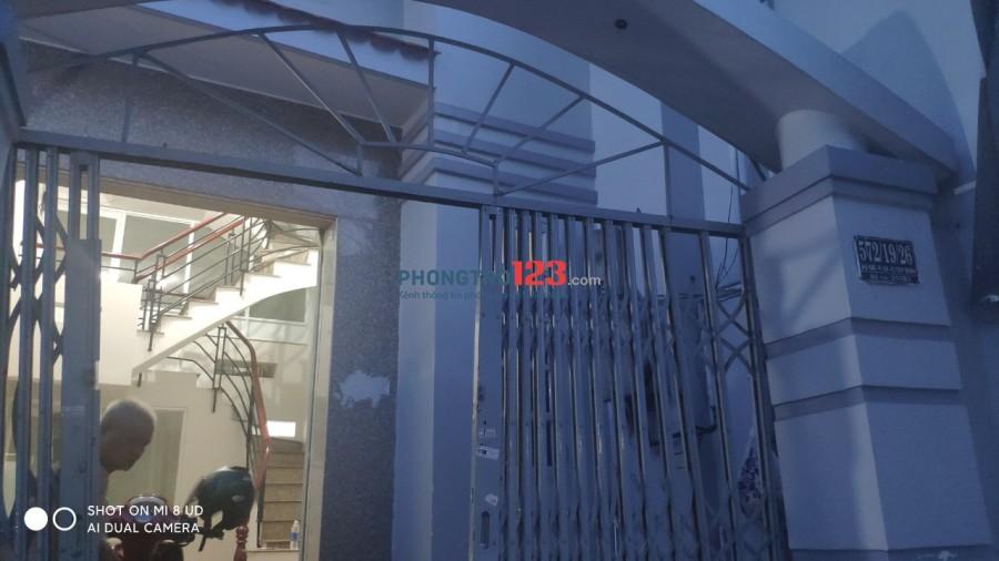 Cho thuê phòng trọ HXH P10 Q.Tân Bình
