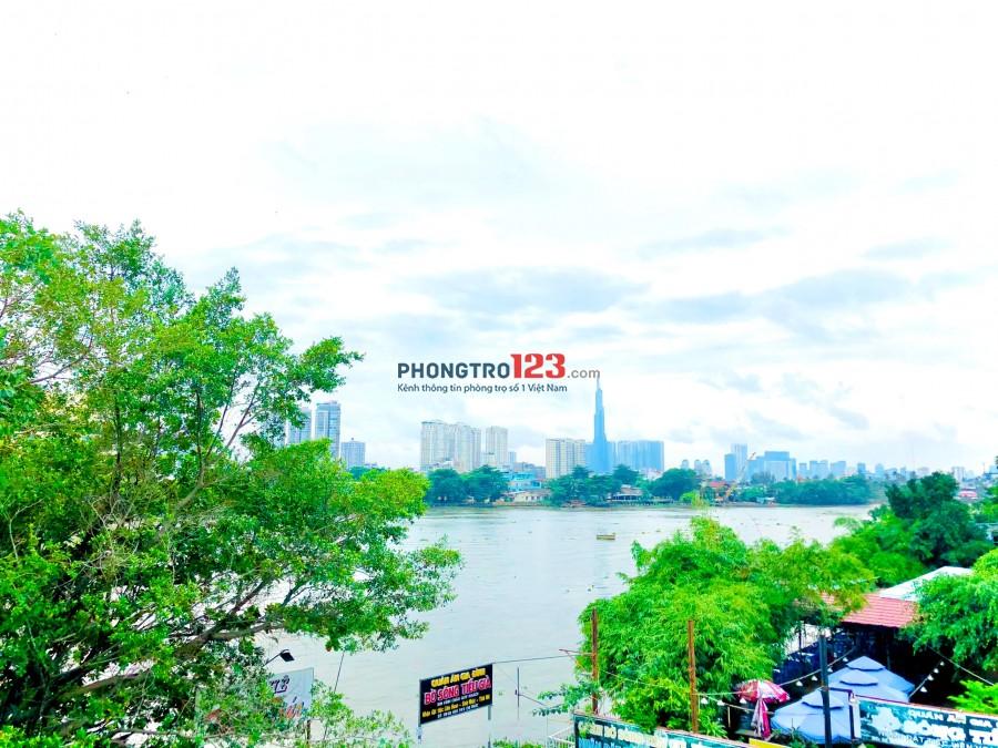 Phòng đẹp trong biệt thự mới xây đường số 23, gần Giga Mall, giờ giấc tự do, view bờ sông mát mẻ