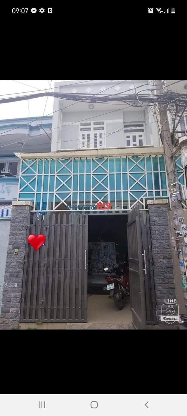 Cho thuê nhà nguyên căn quận 12 HT45 TPHCM
