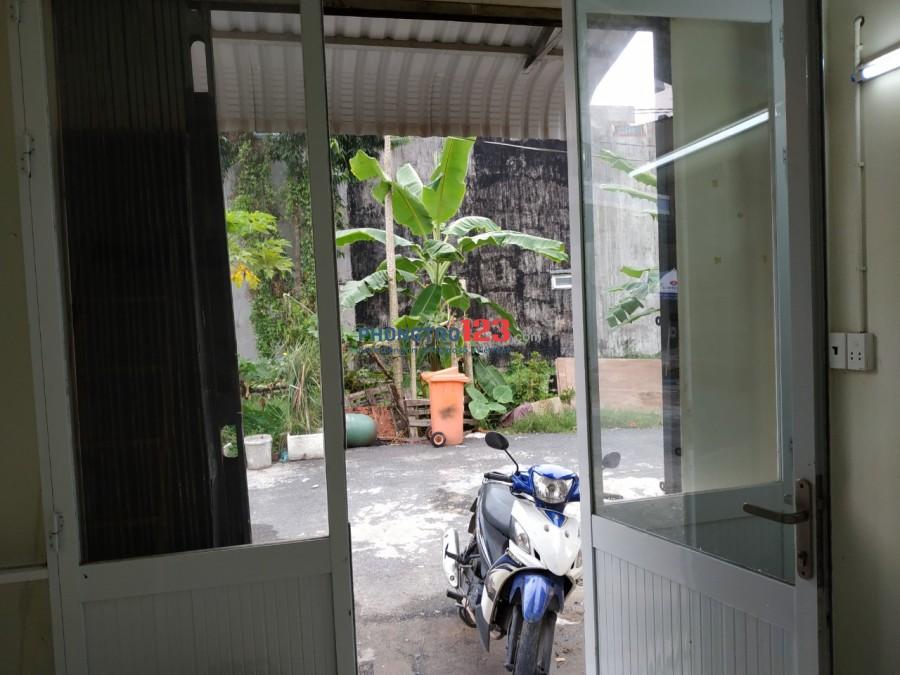 Phòng đầu dãy Thạnh Lộc 37 Q.12 gần CĐ Điện lực Bxe buýt 03. Mầm non Tân Việt Mỹ