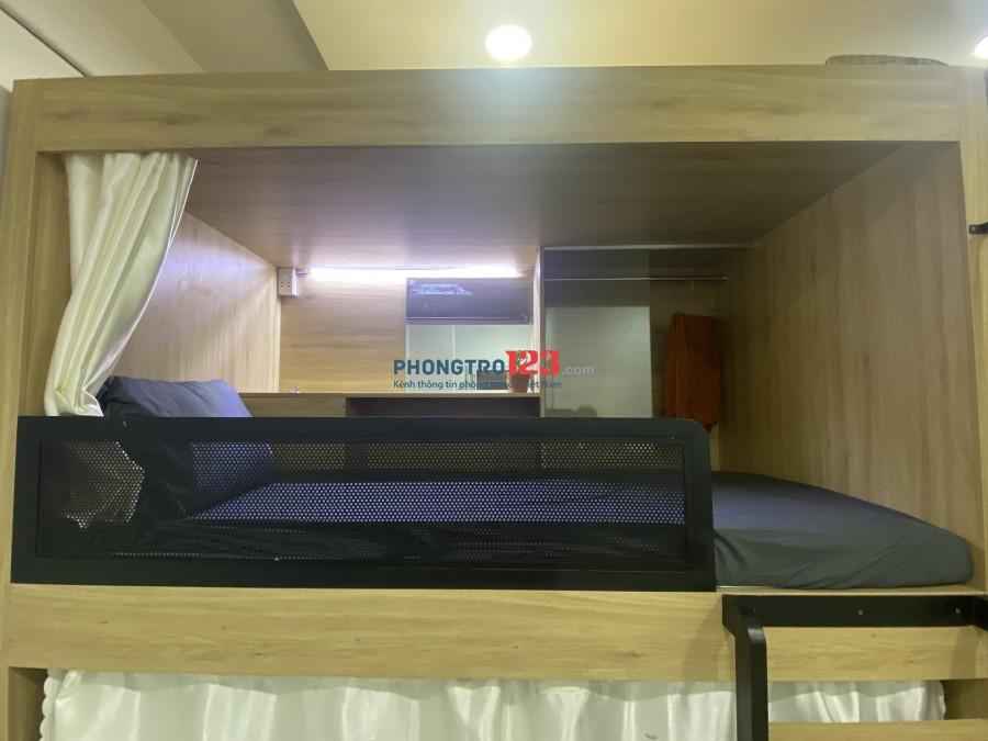 Ký Túc Xá Cao Cấp, Sleepbox Gần sân bay Tân Sơn Nhất.