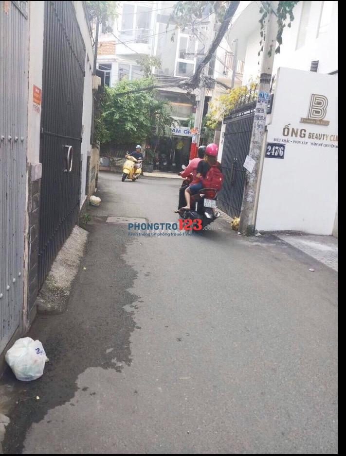 Cho thuê nhà NC đúc 3,5 tấm HXH tại Hoàng Hoa Thám P5 Q Phú Nhuận giá 25tr/th