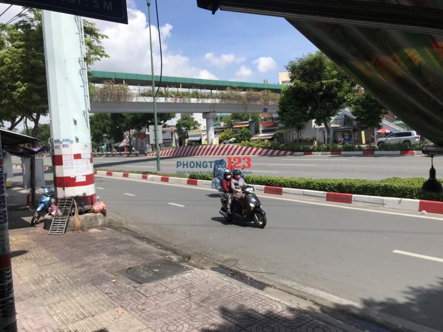 Cho thuê lại nhà nguyên căn mặt tiền 262 Phạm Văn Đồng P1 GVấp giá 12tr/th