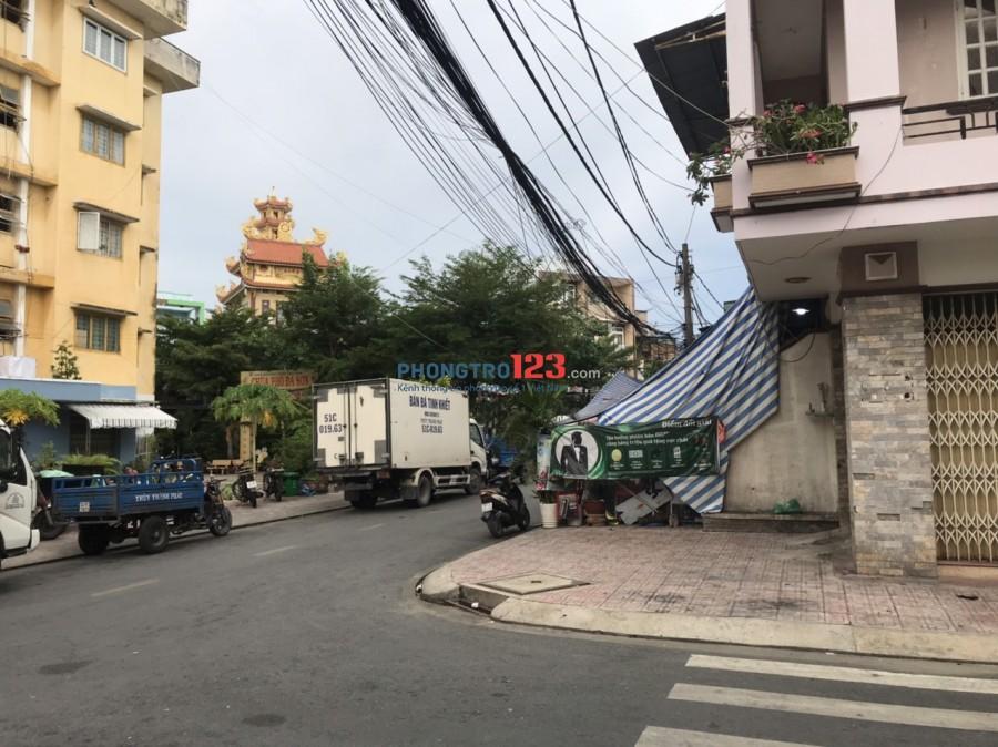 Chính chủ cho thuê nhà Góc 2MT tại 54/10 Đường 266 Bùi Minh Trực P6 Q8