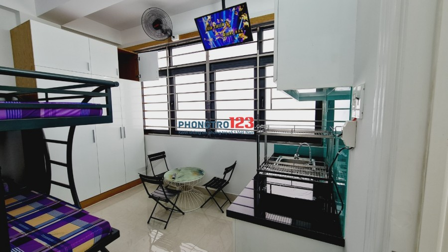 Phòng trọ Quận 7, full nội thất có ban công giá từ 3tr5 đến 7tr5