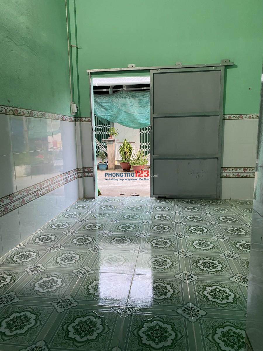 Cho thuê phòng trọ huyện Bình Chánh, yên tĩnh. Rộng 20m2 giá 1.500.000đ/tháng