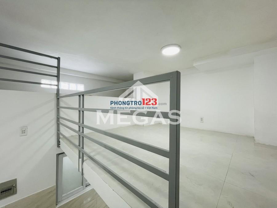 Phòng trọ có gác cao rộng FREE xe, máy lạnh, 25m2, 3tr3/tháng. Tại 42 Đường Hồ Đắc Di gần Trường Chinh, Âu Cơ, Q.Tân Phú