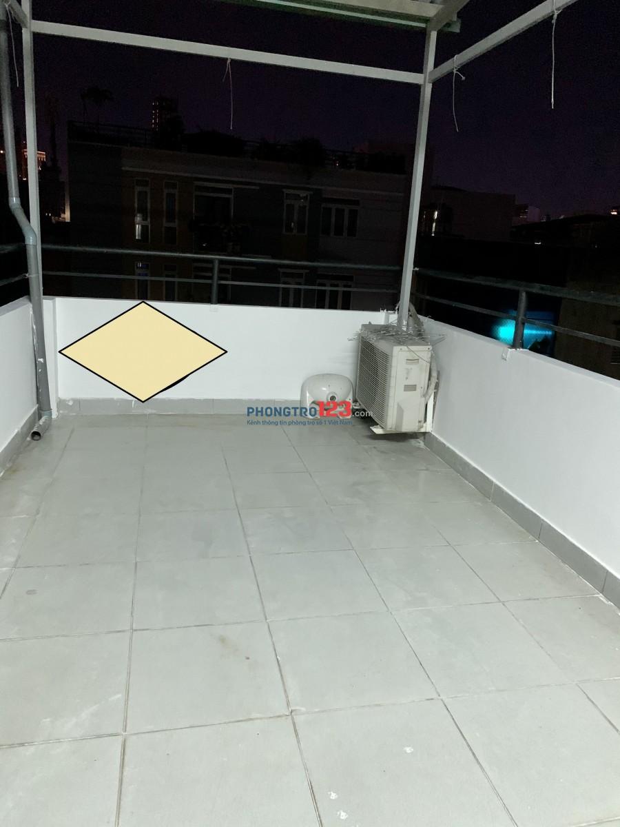 Cần cho Thuê Nhà mới xây Ngay Cầu Bông, 1 trêt 3 lầu sân thượng 5pn 3wc