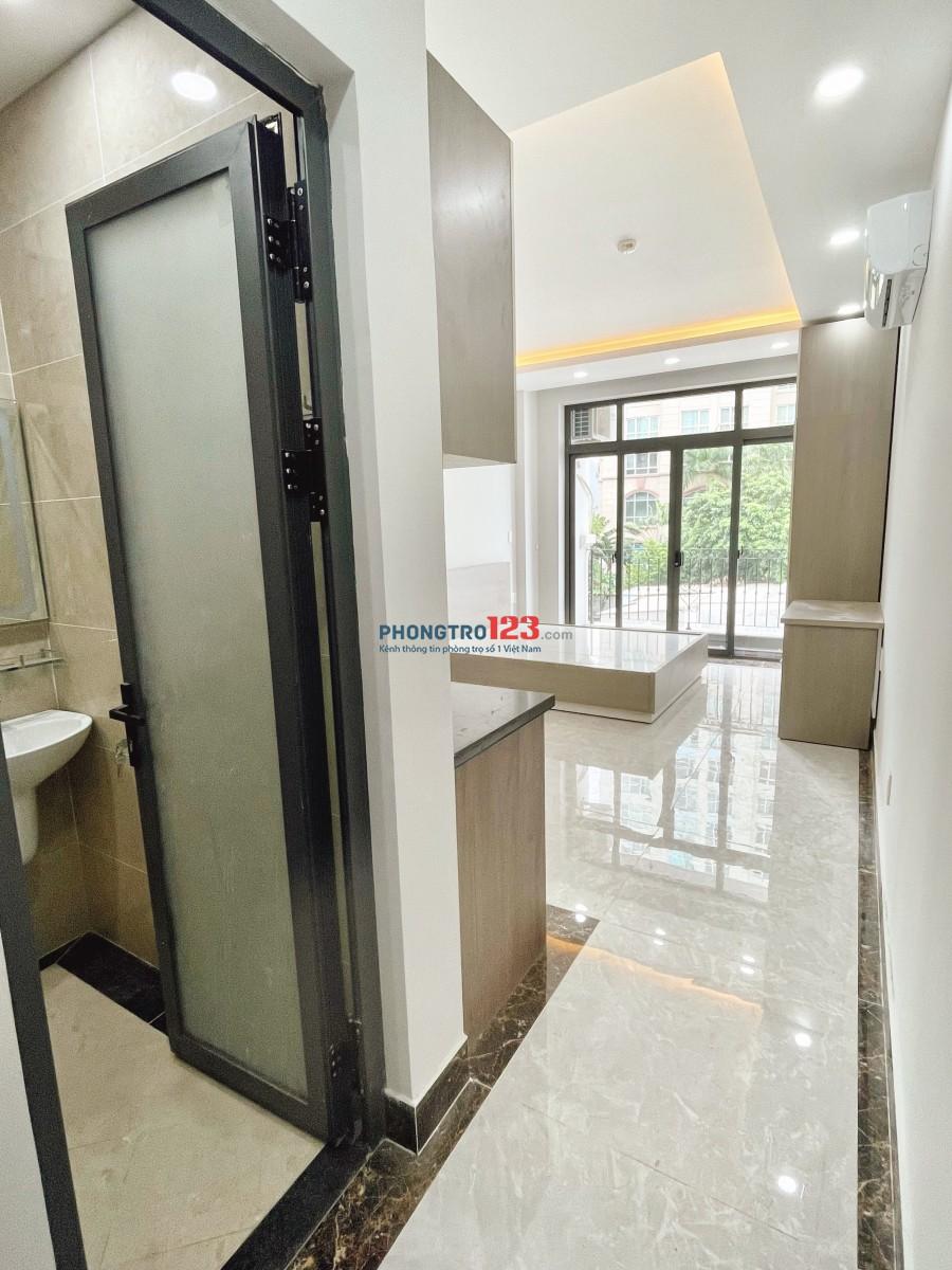 Căn hộ 40m2 có ban công riêng 91 Nguyễn Hữu Cảnh, nội thất mới 100% chưa qua sử dụng