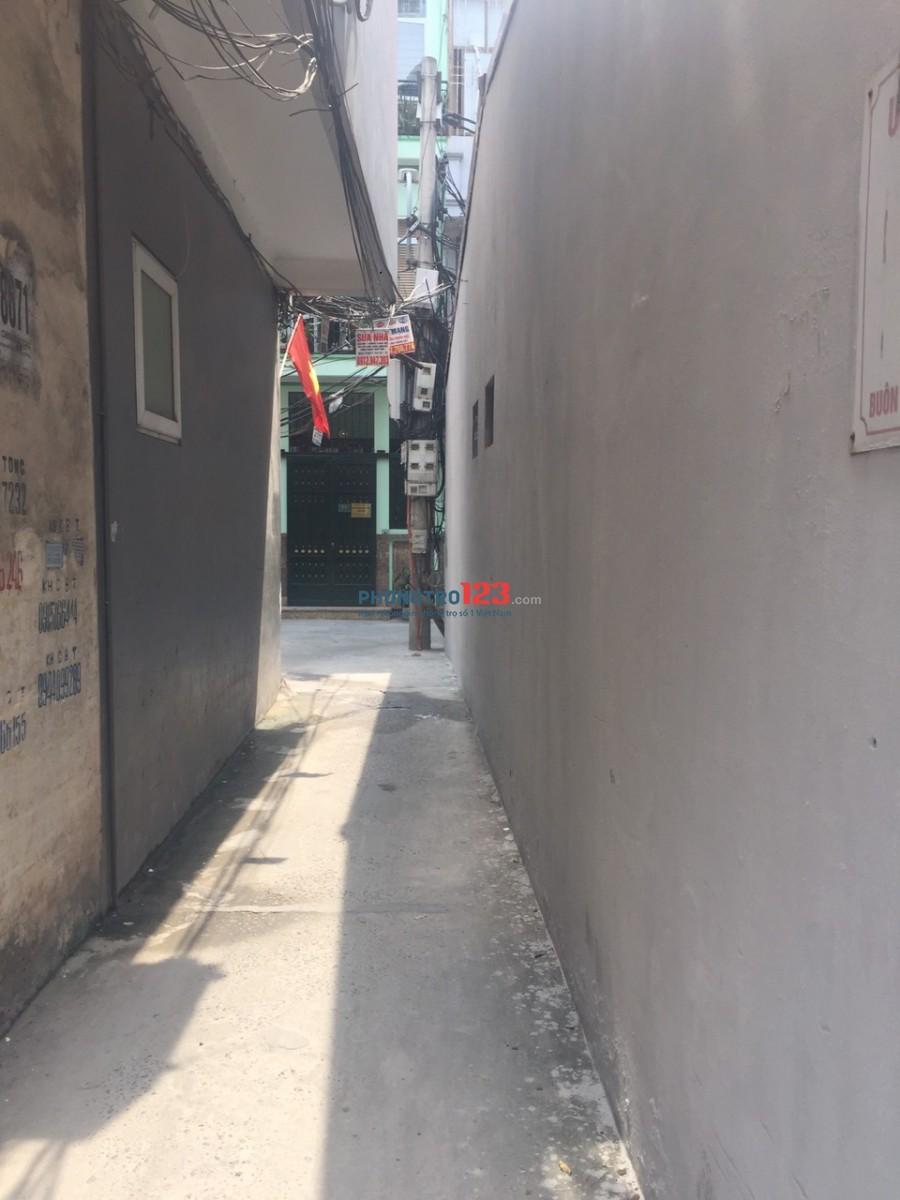 Cho thuê nhà cấp 4 nguyên căn An Dương, Yên Phụ, Tây Hồ, HN, diện tích 47m2 gồm 2 gian sạch sẽ giá thuê 5tr/tháng