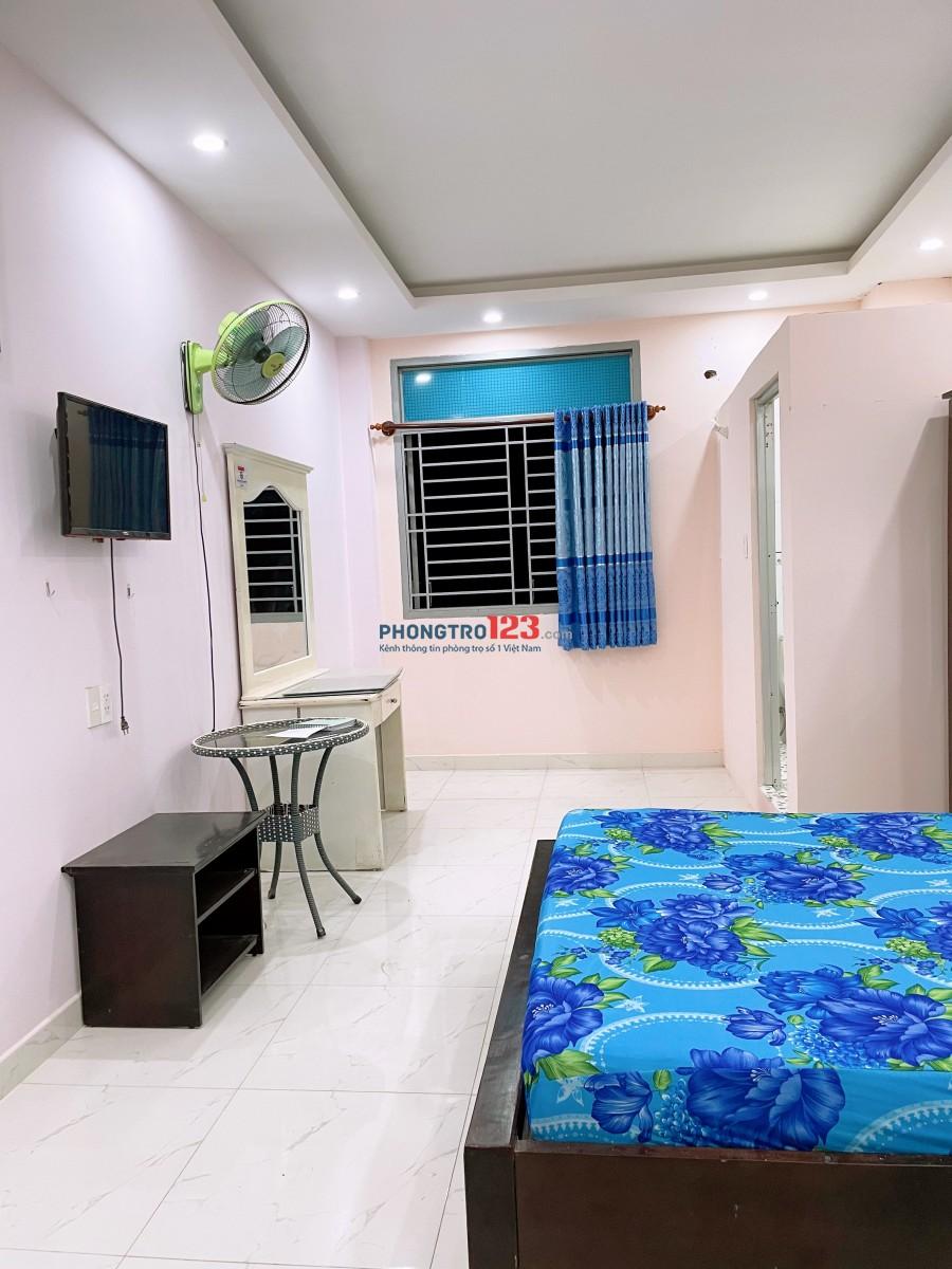 Phòng cao cấp đủ tiện nghi Tân bình 35m2. Giá thuê: 3triệu -3,5tr tuỳ phòng