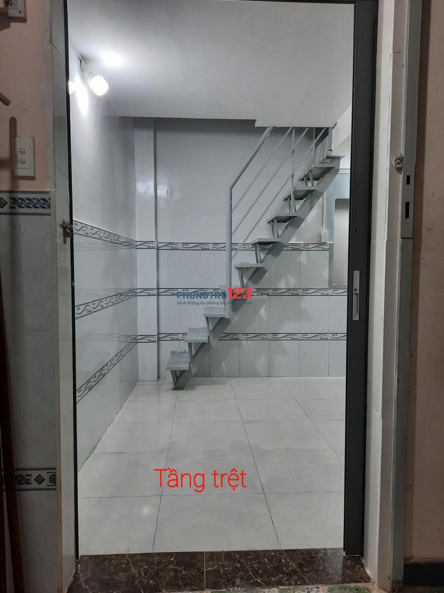 Phòng trọ mới đường Linh Đông, Q. Thủ Đức: 34m2 : 1 phòng sinh hoạt + 2 phòng ngủ, giá 3,5 triệu
