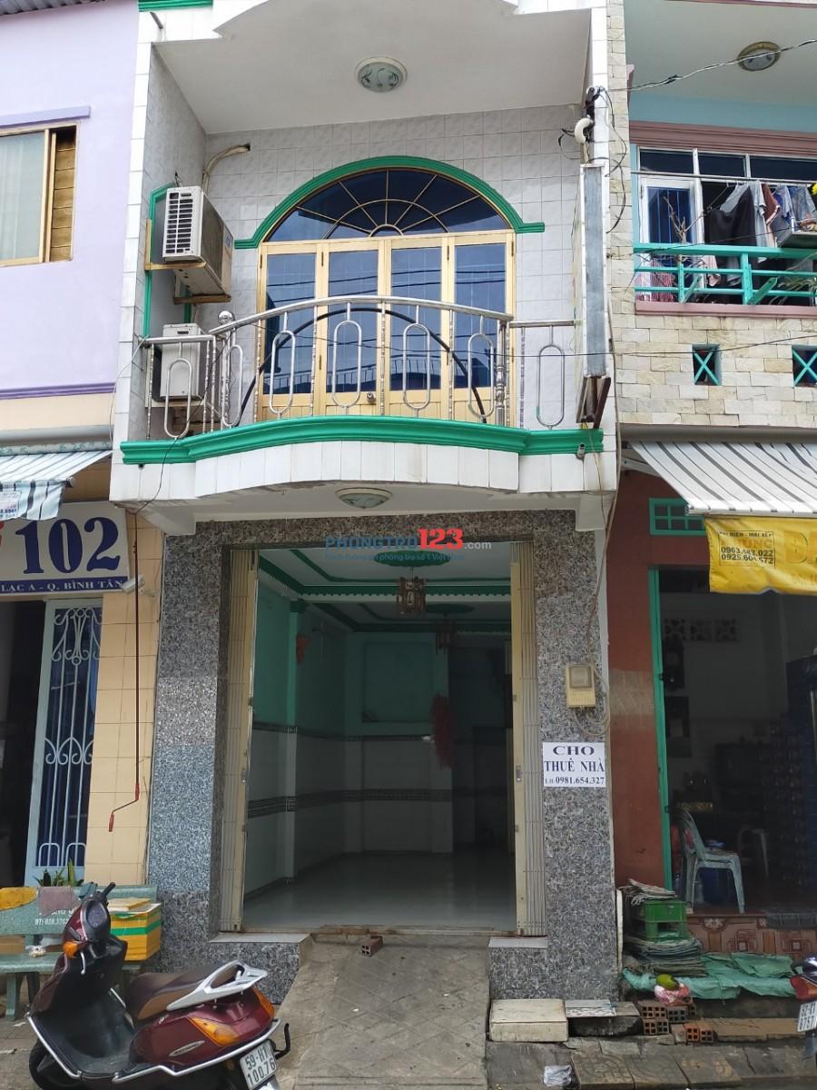 Cho thuê nhà nguyên căn dài 12 mét, rộng 3,5 mét tại Đường Đỗ Năng Tế, Phường An Lạc, Quận Bình Tân