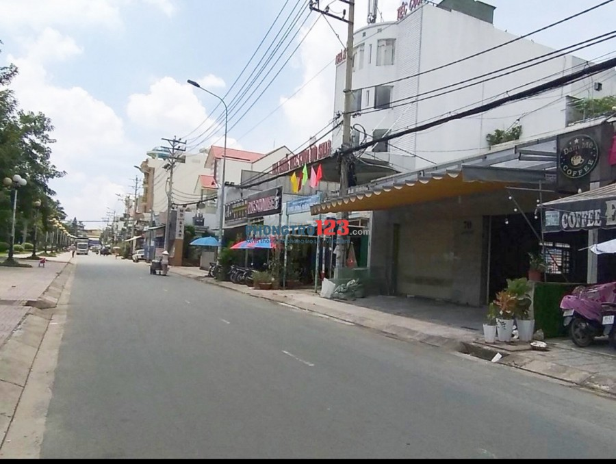 Chính chủ cho thuê nhà 300m2 mặt tiền 70 Lưu Chí Hiếu P Tây Thạnh Q Tân Phú