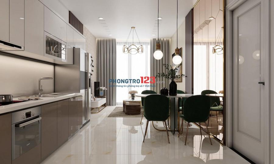 Cho thuê căn hộ Q.1 Vinhomes Golden River, loại 1PN giá 14 triệu/tháng lh 076767640I
