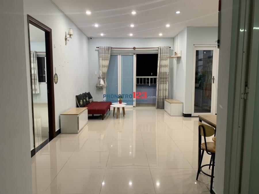 Chính chủ cho thuê CH Chung cư Blue Sapphire Bình Phú 75m² 2PN có nội thất giá 9tr/th
