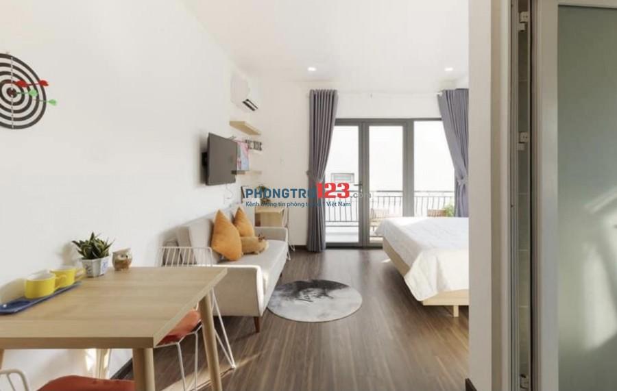 CHDV 30m2 Nguyễn Trãi Q1 full nội thất mới 100%