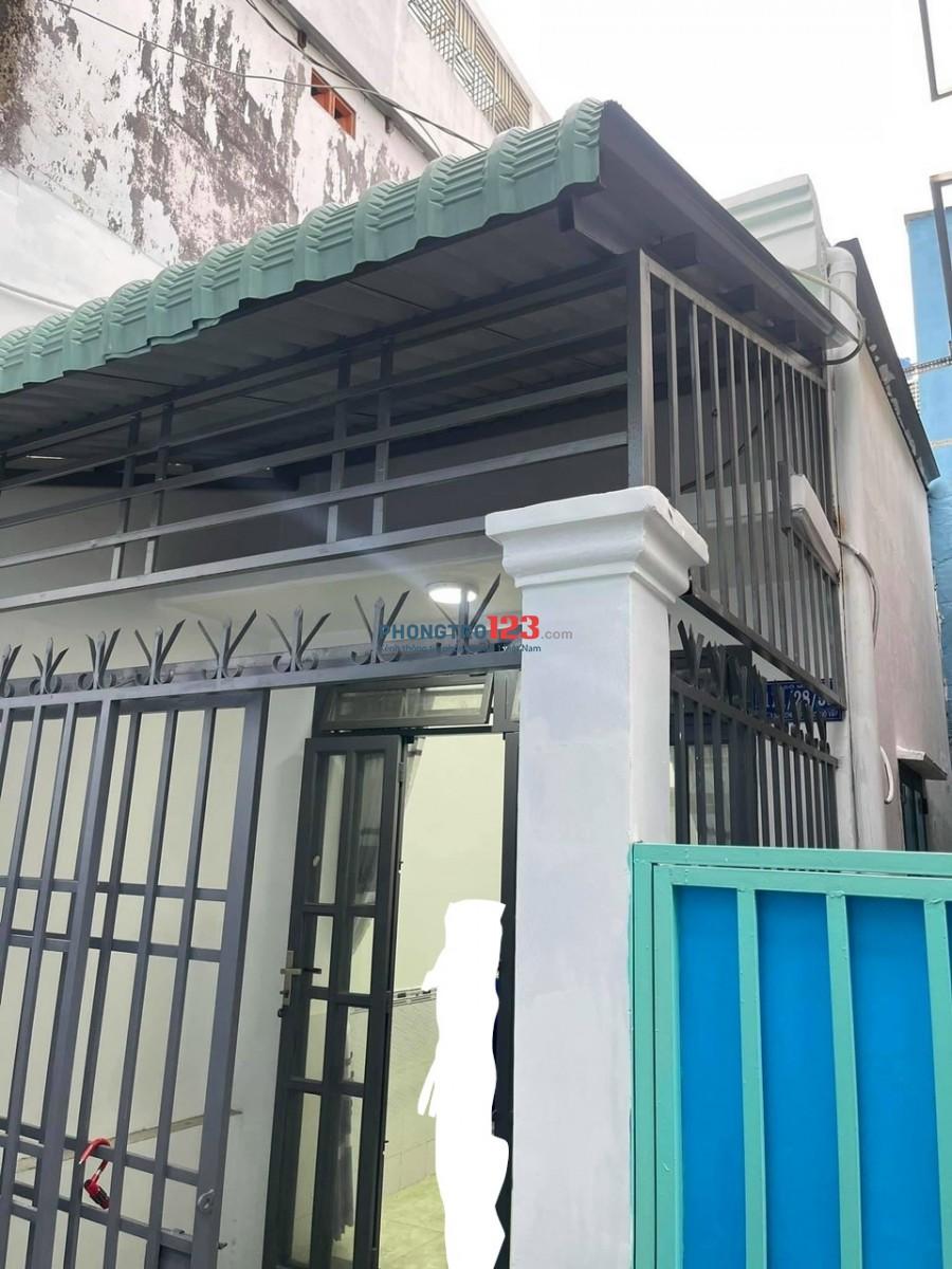 Cho thuê nhà cấp 4 nguyên căn 80 m2, giá 5 tr/tháng