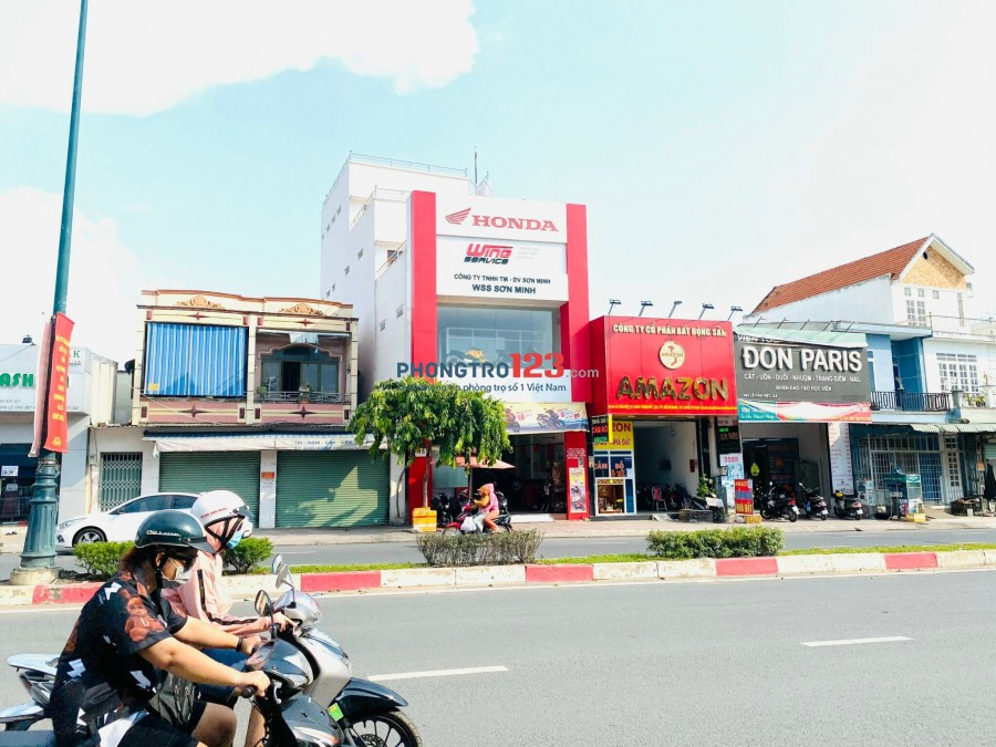 Chính chủ cho thuê nhà mặt tiền 546 Lê Văn Việt P Long Thạnh Mỹ Q9