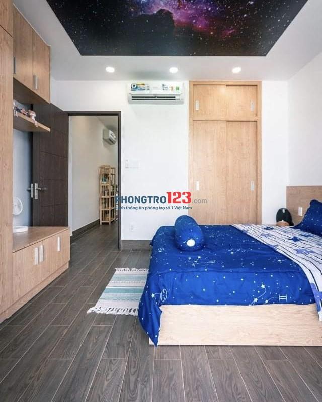 Phòng trọ Bùi Thị Xuân Q1 30m2 full nội thất