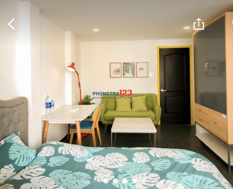 Phòng trọ 30m2 full nội thất Cống Quỳnh Q1