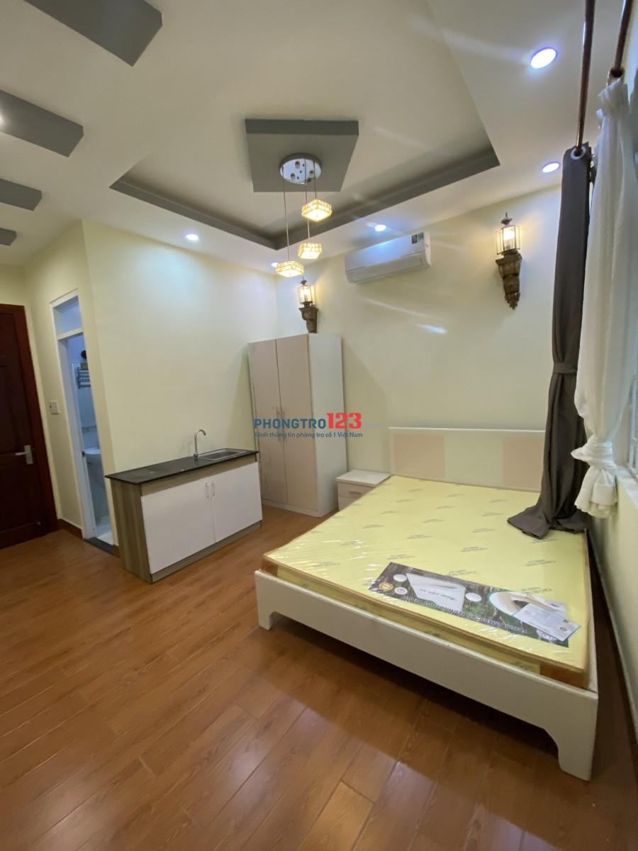 Cho thuê phòng trọ cao cấp Nội thất cơ bản Bình Thạnh. Liên hệ 03468.159.45 (Ms Anh)