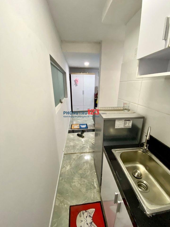 Giảm giá sập sàn căn hộ mini giá rẻ, đầy đủ nội thất, quận Bình Thạnh