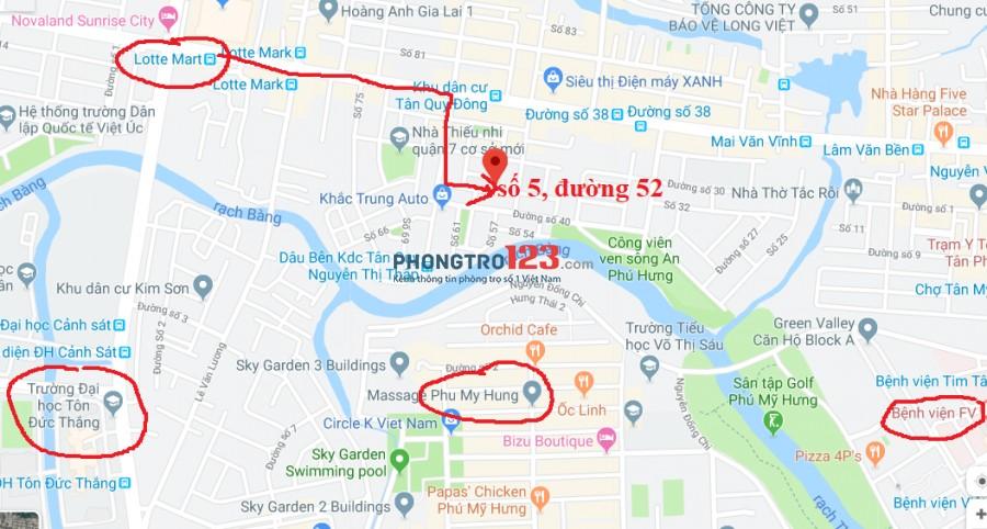 GIẢM NGAY 500K CHO BẠN NÀO Ở NGAY- Căn hộ đủ Nội Thất đường 52-Ng Thị Thập Tân Phong, Quận 7 gần Lotte Mart, Phú Mỹ Hưng