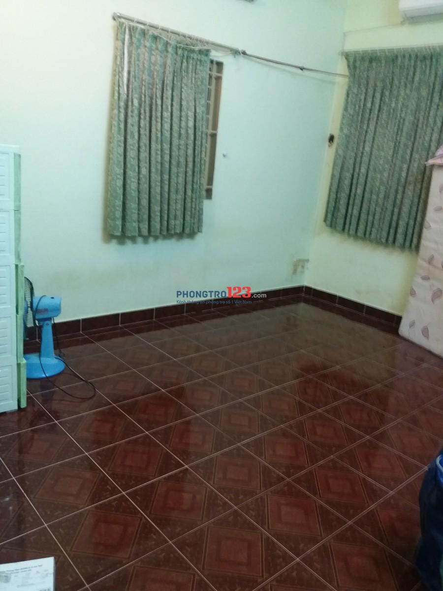 Phòng máy lạnh có ban công 2tr6/tháng, gần Cao Thắng, Quận 3
