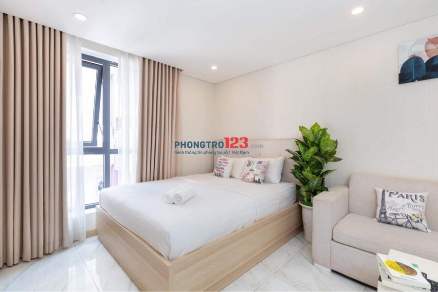 Cho thuê phòng Studio 2 người 30m² Full nội thất tại Thạch Thị Thanh Quận 1