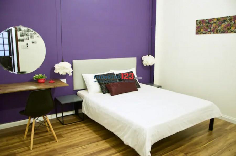 Chính chủ cho thuê nhà 1 trệt 2 lầu đầy đủ nội thất ngay trung tâm Q1 giá 18tr/th