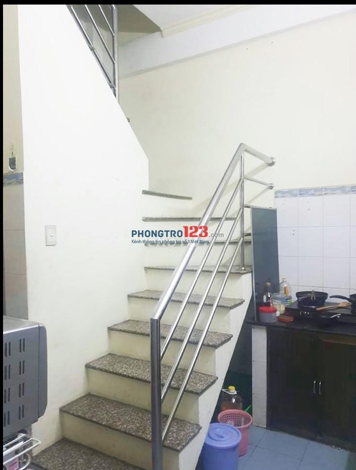 Cho thuê lại nhà NC 1 trệt 2 lầu tại 103/7B Tân Hóa P14 Q6 giá 8tr/th