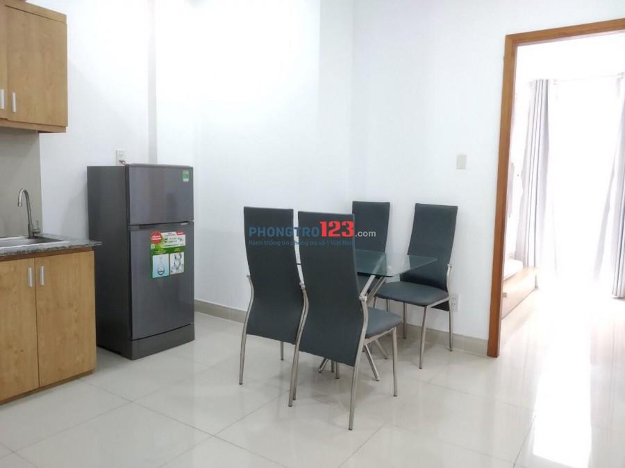 Cho thuê căn hộ rộng 40m2, Full Nội Thất, giá thuê 5.500.000đ