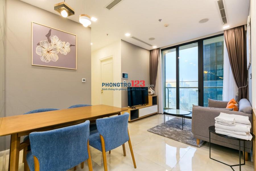 Cho thuê căn hộ Q.1 Vinhomes Golden River, loại 2PN giá 18 triệu/tháng lh 076767640I