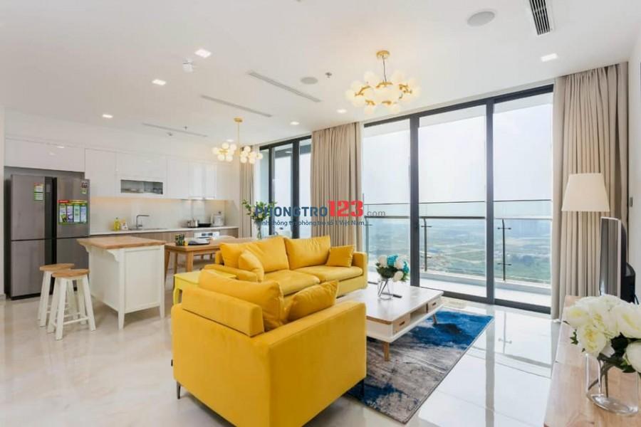 Cho thuê căn hộ Q.1 Vinhomes Golden River, loại 3PN giá 30 triệu/tháng lh 076767640I