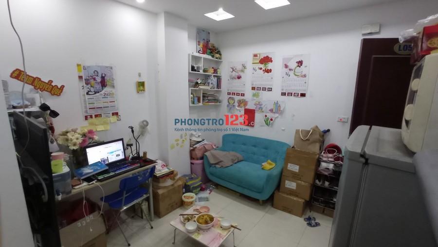 Cho thuê căn hộ chung cư Xuân Đỉnh 1PN, 1Pk, 3,5tr. Liên hệ xem nhà: 0986468850