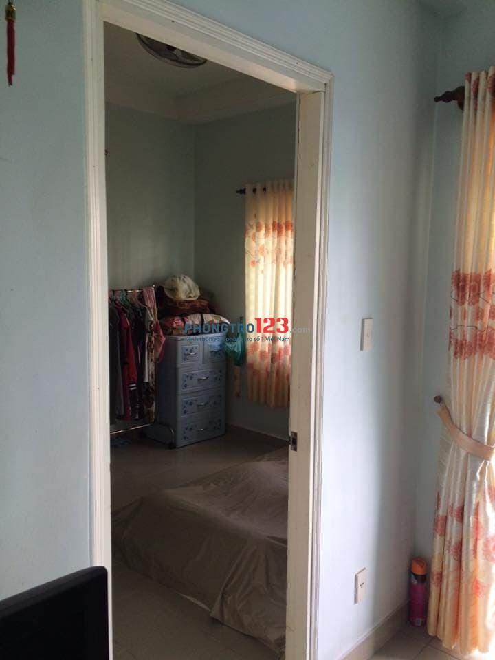 Cho thuê căn hộ tại lô B chung cư Thạnh Mỹ Lợi diện tích 65m2, 2 PN, 2WC