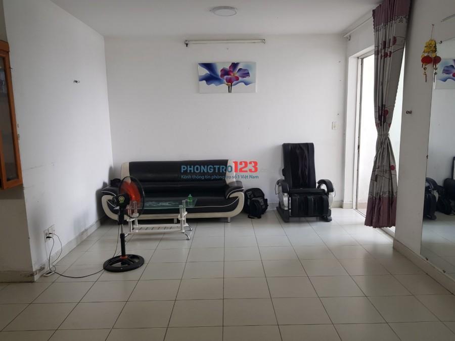 Chính chủ cho thuê căn hộ Quang Thái Q Tân Phú 90m2 3pn có nội thất giá 9,5tr/th