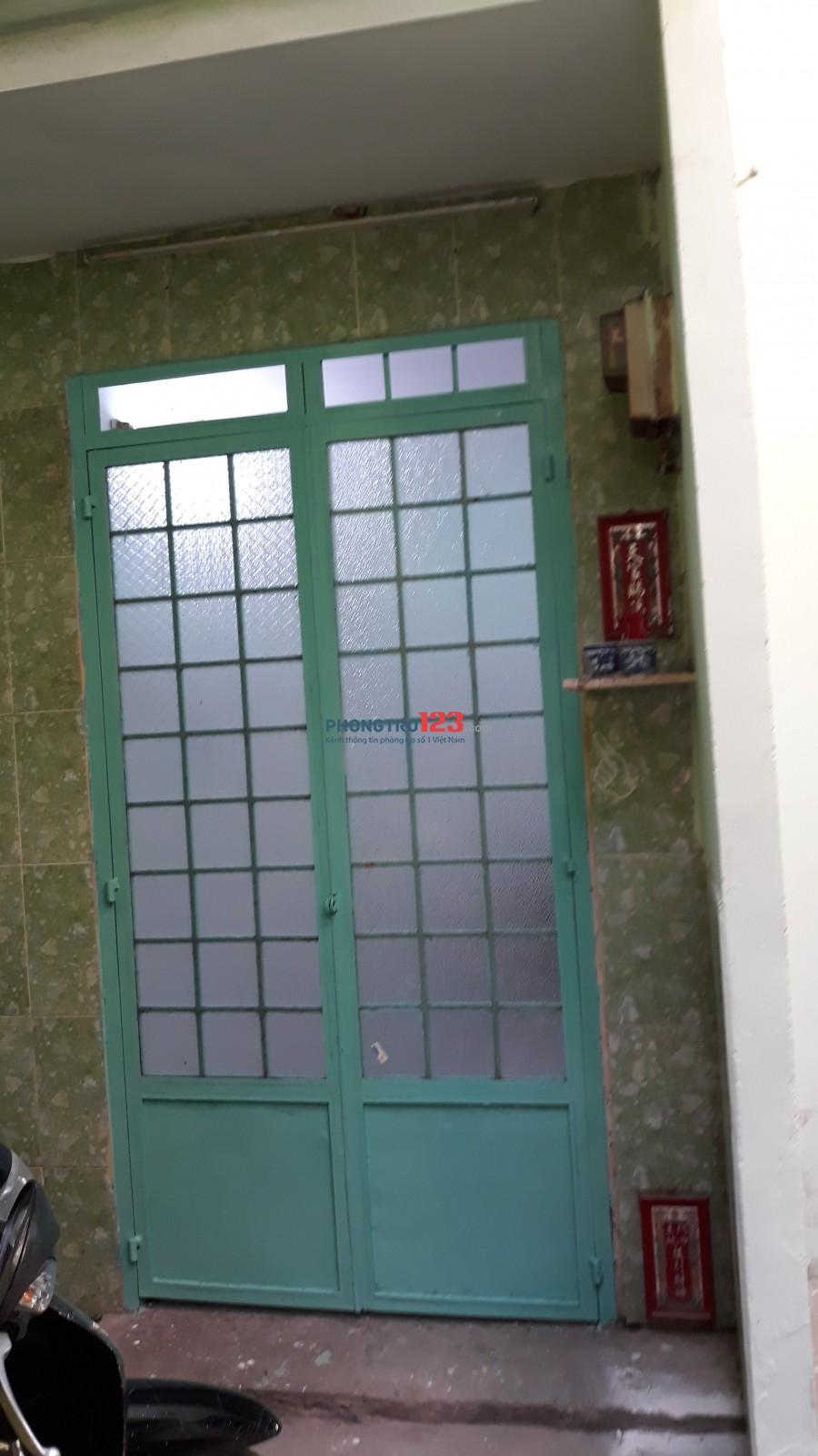 Chính chủ cho thuê nhà: Tân Hòa Đông, P14, Q6. TPHCM. Giá: 3,5triệu/tháng. LH. C.Thu :0918410614.